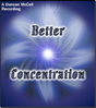Better Concentration CD & MP3